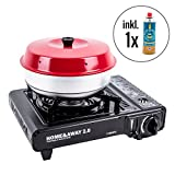 Home & Away 2.0Portable Gas Camping Stove with 1gas cartridge + OMNIA Oven