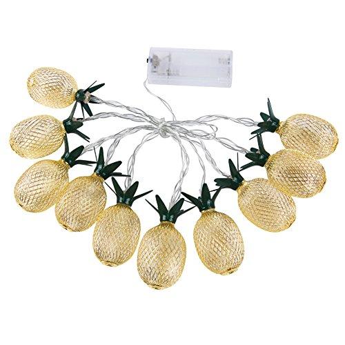 PowerBH Warme Farbe LED Romantische Ananas Kleine String Märchen String für Familie Geburtstagsfeier Hochzeit Dekoration Schlafzimmer Nachtlicht