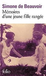 Mémoires d'une jeune fille rangée de Simone de Beauvoir