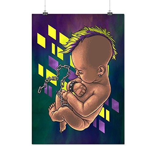 Punk Baby Ketten Mode Mattes/Glänzende Plakat A3 (42cm x 30cm) | (Punk Kostüm Weibliche Rock)