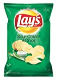 Lays sour cream and onion potato chips - 15.125 oz. bag by Lay's