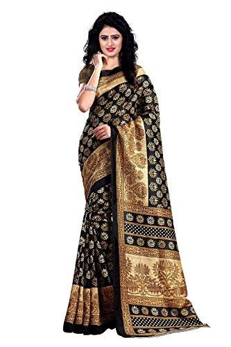 Trendz Bhagalpuri Cotton Silk Saree(TZ_Kasturi)