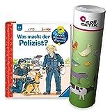 Ravensburger Junior Buch ab 2 Jahren | was Macht der Polizist? - Wieso? Weshalb Warum? + Kinder Bauernhof Tiere Poster