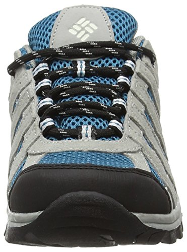 Columbia Youth Redmond Explore Waterproof, Chaussures Bateau Unisexe Adulte Bleu (Dark Compass/White 402)