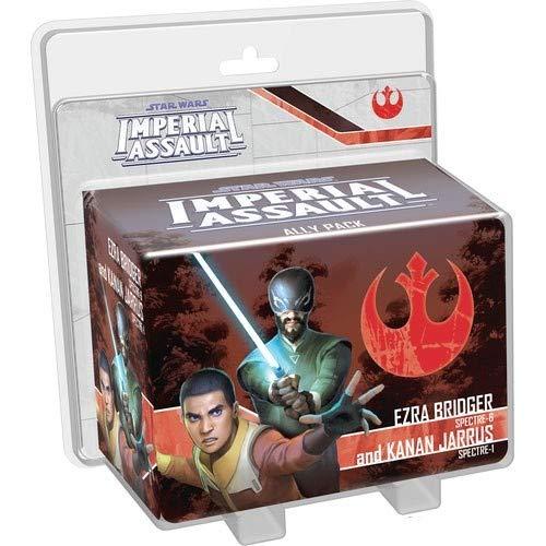 Fantasy Flight Games Star Wars Imperial Assault Ezra Bridger & Kanan Jarrus - ()