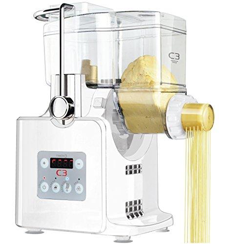C3 Basta Pasta vollautomatische Nudelmaschine weiß