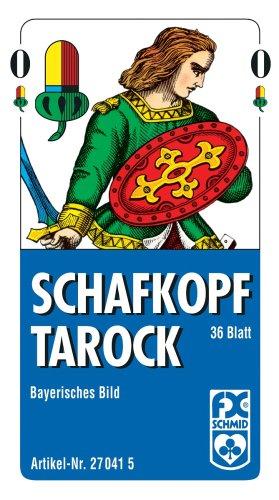 Ravensburger 27041 - Schafkopf/Tarot, Bayerisches Bild - 36 Blatt, Faltschachtel