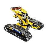 1 x Lego Technic Teile für Set Modell 7632 Baustellen Kran Raupenkran gelb mit Panzer Ketten Technik Incomplete unvollständig