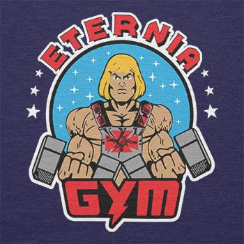 TEXLAB - Eternia Gym - Herren Langarm T-Shirt Navy