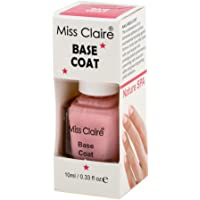 Miss Claire Miss Claire Base Coat, Clear, 10 Milliliters, Pink, 10 ml