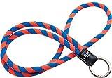 Original Lanyards Leis Classic Schlüsselanhänger mit Schnur Orange Orange/Blau