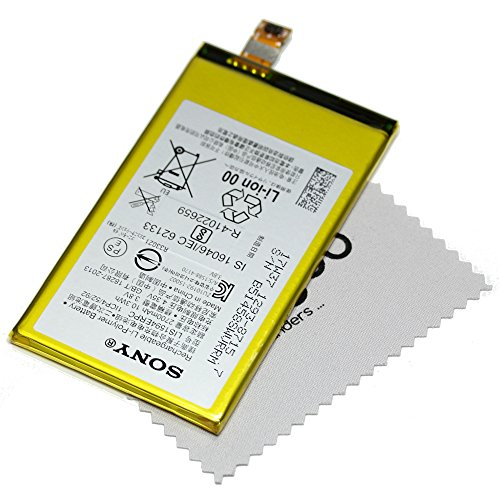 Batería para Original Sony para Sony Xperia XA ULTRA, Xperia XA ULTRA Dual, Xperia Z5 Compact 1293-8715 LIS1594ERPC con mungoo pantalla paño de limpieza