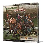 Edge Entertainment- Green Horde Tile Set, Farbe (EECMZB40)