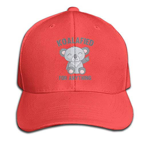Osmykqe Koala Fied Anything Unisex Sommer Sonnenhut einstellbar lässig Golf Tennis Caps - Boston Baseball-cap Kleinkind