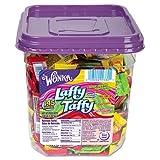 Nestle® - Bonbons Wonka Saveur Assorti Laffy Taffy, 1.4kg, 145 Pièces Emballée/Tube - Vendu Comme 1 de Chaque - Individuellement Enveloppé pour plus de Commodité.