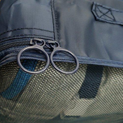 Kofferorganizer Packtaschen,JBLCC 8-teiliges wasserfestes Packwürfel Set für platzsparenden Transport von Gepäck auf Reisen und Geschäftsreisen(Grau)