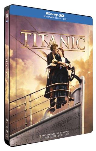 Titanic [Combo Blu-ray 3D + Blu-ray - Édition boîtier SteelBook]