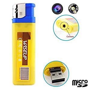 BRIQUET CAMERA ESPION MINI DV PHOTO ET VIDEO - YONIS