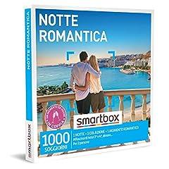 Idea Regalo - SMARTBOX - Cofanetto regalo coppia- idee regalo originale - 2 giorno romantico in case da favola
