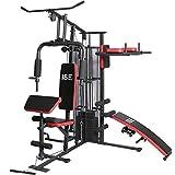 Station Kraftstation Fitness Gerät Fitness Multifunktions mit Gewicht–Lot de 50Ise sy-4009