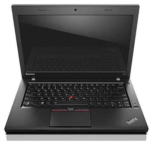 """Lenovo ThinkPad L450 2GHz i3-5005U 14"""" 1366 x 768pixels Black - notebooks (i3-5005U, ThinkPad UltraNav, Windows 7 Professional, Lithium-Ion (Li-Ion), 64-bit, Windows 10 Pro)"""