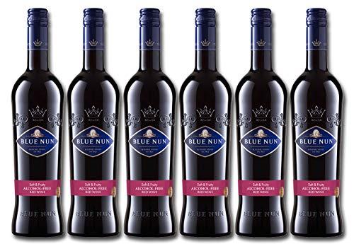 Blue Nun Alkoholfreier Rotwein Lieblich Alkoholfrei (6 x 0.75 l)