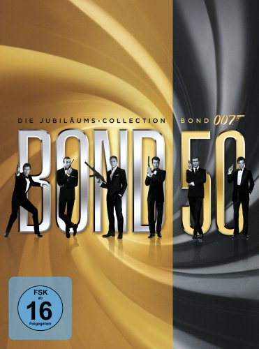 James Bond – Bond 50: Die Jubiläums-Collection (ohne Skyfall) (22 Discs)