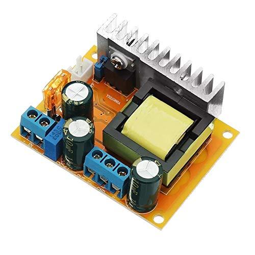 Este es un controlador de velocidad de motor DC simple y fácil de usar de rendimiento estable.    Parámetros:       Tamaño: 60 x 50 x 22 mm (largo x ancho x alto).    Voltaje de entrada: dos rangos de voltaje de entrada seleccionables (por selecci...