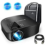 """VANKYO Leisure 510 Full HD Projector with 3600 Lumens, Video Projector with 200"""""""