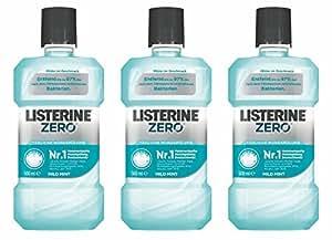 Listerine Zero, 3er Pack (3 x 500ml)