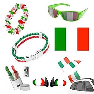 Taffstyle® Fan Set Fanartikel Italien