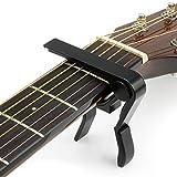 Spezifikation: Artikel dann :capo&gitarren kapodaster Gewicht: 53g Farbe: schwarz Shinning Aussehen, Eleganz und Mode. Produktabmessungen 9,6 x 9,6 x 1,4 cm/3.78*3.78*0.55inch Klein, bequem und tragbar Aluminium hochglanz ,extra leicht ,Starke Ro...