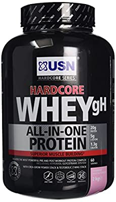USN Hardcore Whey Protein gH - 2 kg by USN