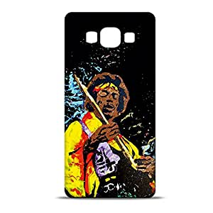 ezyPRNT The Legend Jimi Hendrix Printed Mobile Back Case Cover for Samsung Galaxy A7