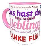 Kinderlampenland Tasse Kollegin Büro Lieblingskollegin Spruch Kaffeetasse Fröhliche Two-Tone-Tasse Sprüchetasse Geschenk Geburtstag