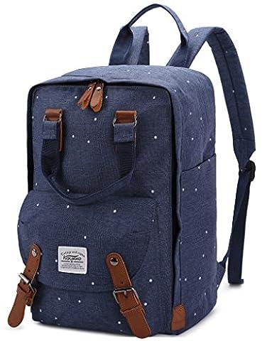 KAUKKO Campus Rucksäcke Laptoprucksack Reisetasche Oxford Rucksack Fit up to