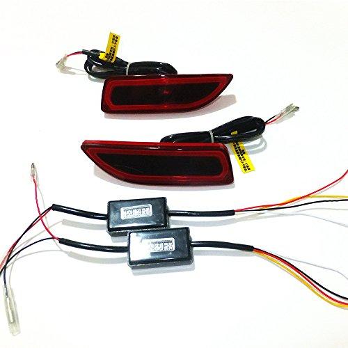 July King LED-Licht-Führer-Bremsen-Lichter Nacht-Fahrlicht-Umdrehungs-Signals Brake-T-Corolla-2011-II für Corolla CT200h 2011 2012 2013, 1Pair/lot (Corolla 2011 Led)