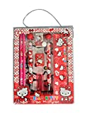 #5: RIANZ 10 in Stationary pouch set Birthday Return Gifts for kids Boys and Girls (Hello Kitty)