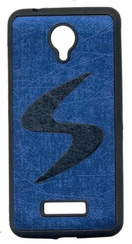 ECellStreet Rubberised Soft Back Case Cover Back Cover for Vivo Y28 Vivo Y 28 - Black in Navy Blue  available at amazon for Rs.220