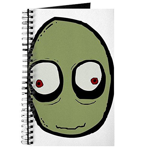 CafePress-Salad Fingers-Spiralbindung Journal Notebook, persönliches Tagebuch, Dot Grid Salat Finger