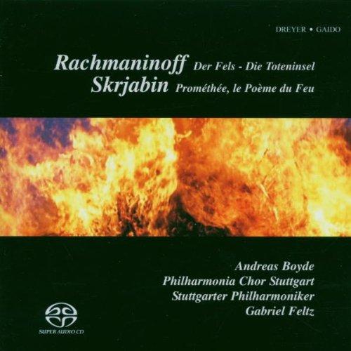 Preisvergleich Produktbild Rachmaninoff: Der Fels Op.7 / Die Toteninsel Op.29 / Skrjabin: Prométhée Op.60