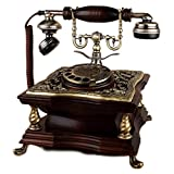 Rotary Dial Disc Retro Telefon in der sinuous Stil der 1920er Jahre