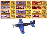 Lot de 24 avions/planeurs pour enfant