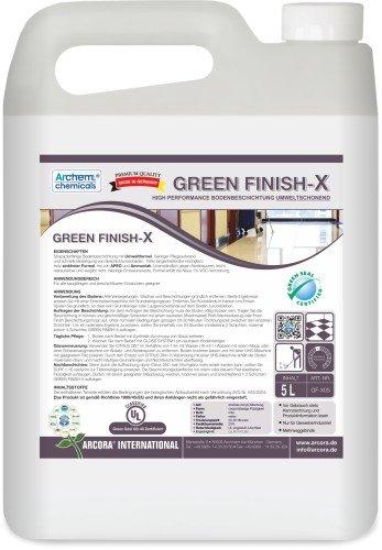 Arcora GF-X05 Green Finish X High Performance Bodenbeschichtung, Umweltschonend, 5 L