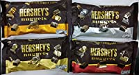 Hershey's Combo Gift Pack of 4, (Hershey's Nuggets Milk Chocolate 340g, Hershey's Nuggets Milk Chocolate with Almond 340g, Hershey's Nuggets Milk Chocolate with Toffee & Almonds 340g, Hershey's Nuggets Special Dark with Almonds 340g)