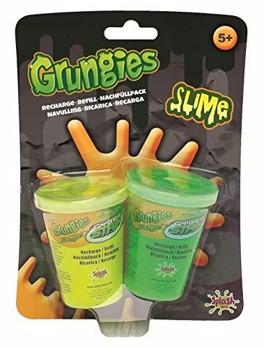 (Splash Toys 56016I - Grungies Slime Nachfüllpack, Nachfüllset mit gelbem und grünem Schleim für Grungies Slime Splasher Schleimpistole und Grungies Slime Blaster Schleimgewehr)