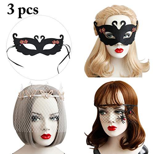 auen Halloween Maske Dekorative Maske Mesh Party Stirnband ()