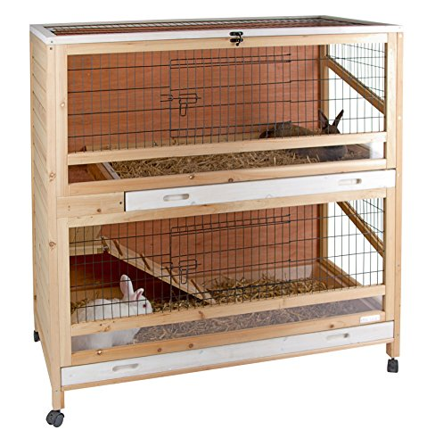 kerbl-small-animal-cage-indoor-de-luxetwo-storied-115x60x118cm