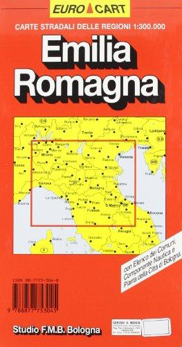 Emilia Romagna 1:300.000 (Euro Cart)