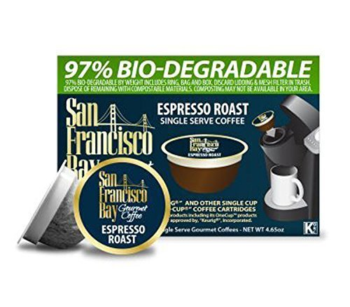 San Francisco Bay Coffee OneCup 72 ct. Espresso Roast by Rogers Family Coffee Co.